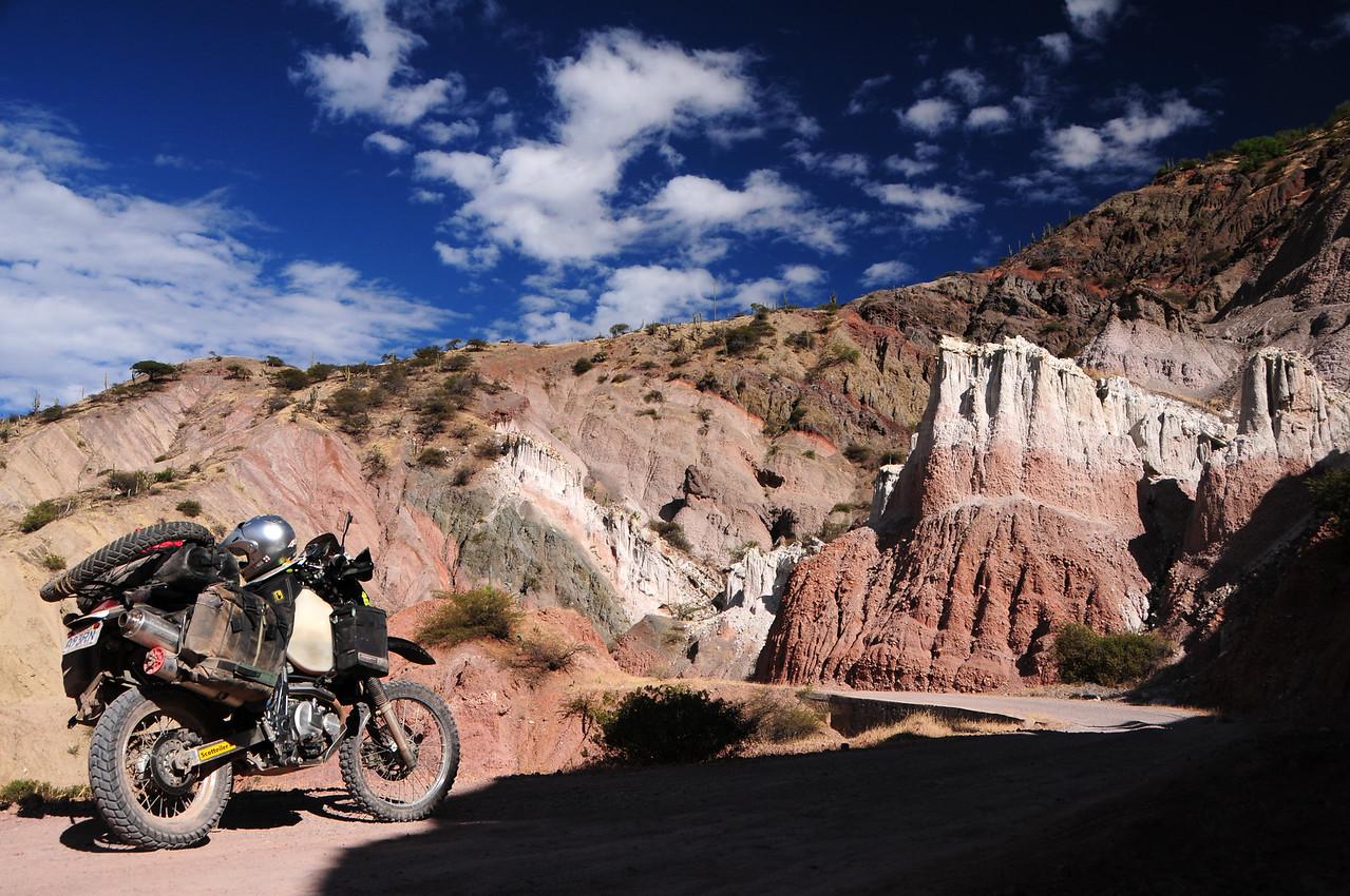 Antaparco - Ayacucho Road. Peru