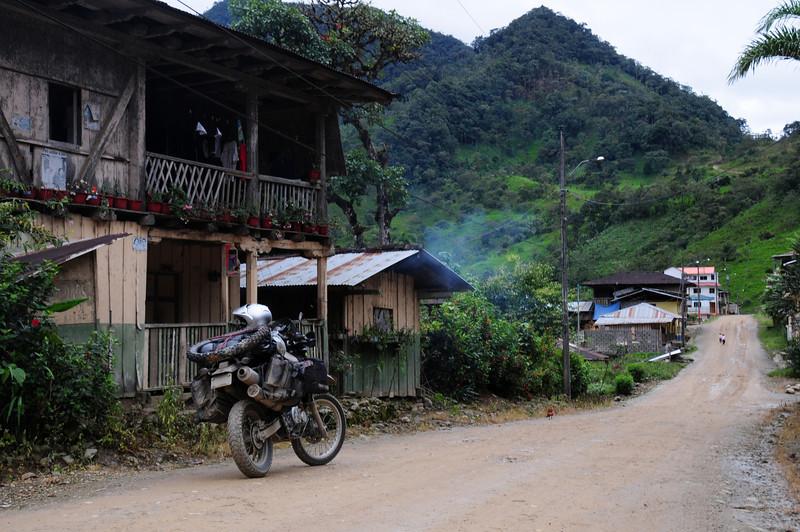 Gualaquiza -  Sigsig Road,  Ecuador