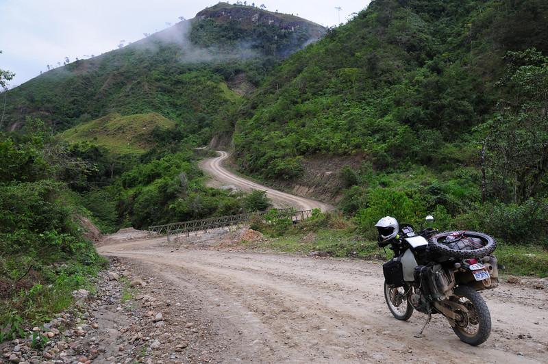 Zumba (Ecuador) to the Peruvian border