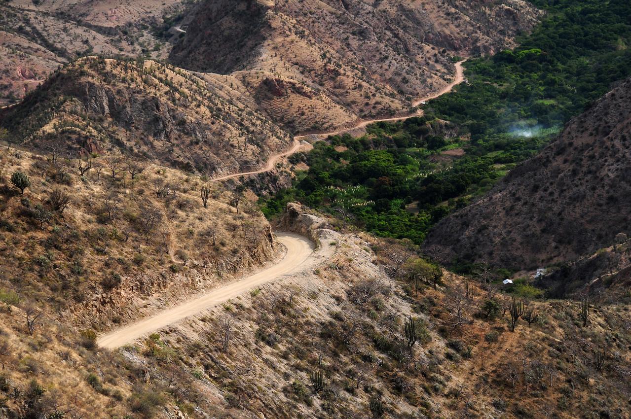 PE-08B.  Chachapoyas - Celedin Road. Peru.