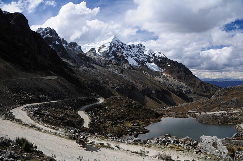 Quebrada Morococha.  Yanama - Yungay Road.  Cordillera Blanca, Peru.