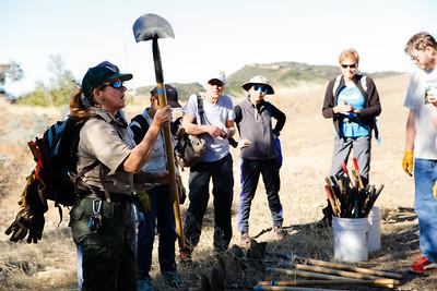 151107 Ridge Trail Cleanup