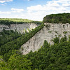 Canyon view of Letchworth park in Upstate New York