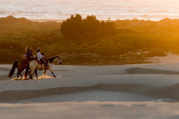 Adventure Photography | Oceano Sand Dunes | Riding Into the Sunset