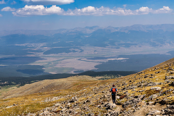 Down to Leadville - Mt. Massive, Colorado