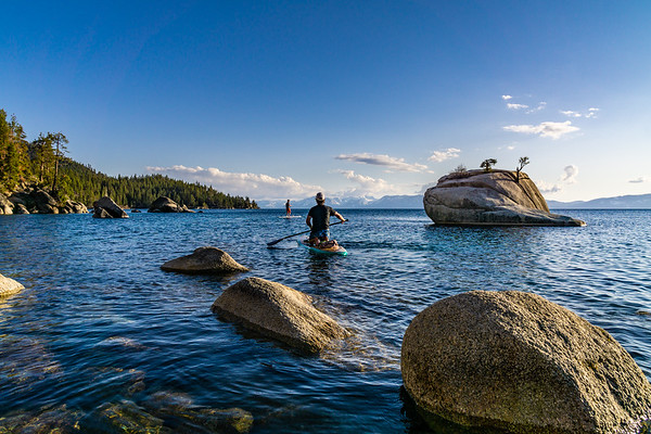 Adventure Photography | Lake Tahoe | Paddle Tahoe