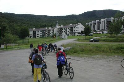Bikes to CP 2