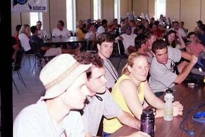 Pre-race briefing