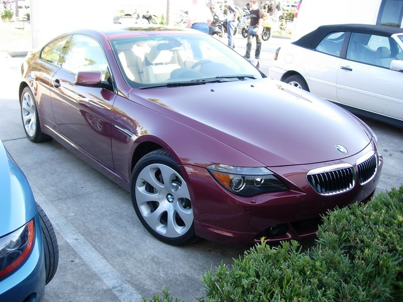 Random . . . new BMW 6 series