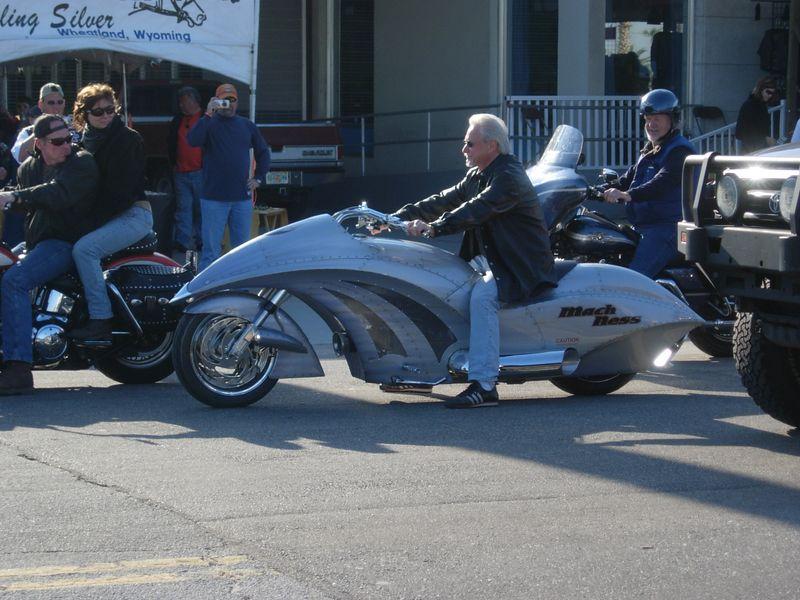 "Arlen Ness on ""Black Ness"" . . . jet bike?"