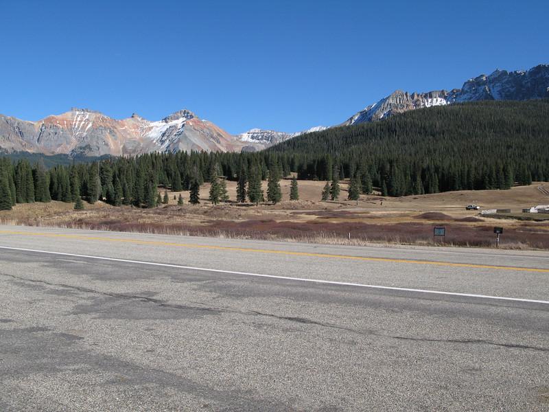 Colorado Hwy 145 towards Telluride, Colorado