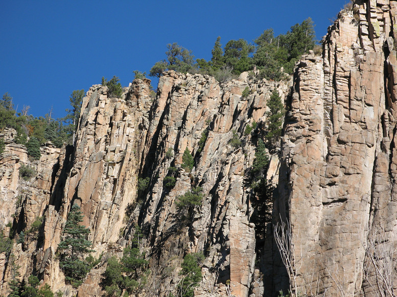 Palisades Sill, US Hwy 64, New Mexico