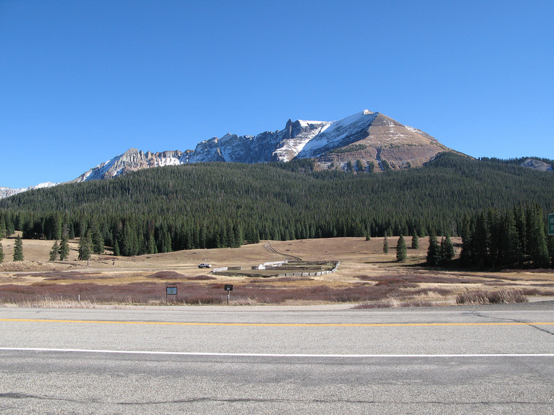 Colorado Hwy 145 towards Telluride, Colorado