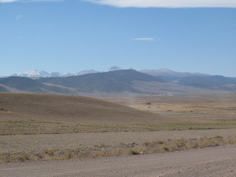 Colorado Hwy 114, east of Gunnison, Colorado