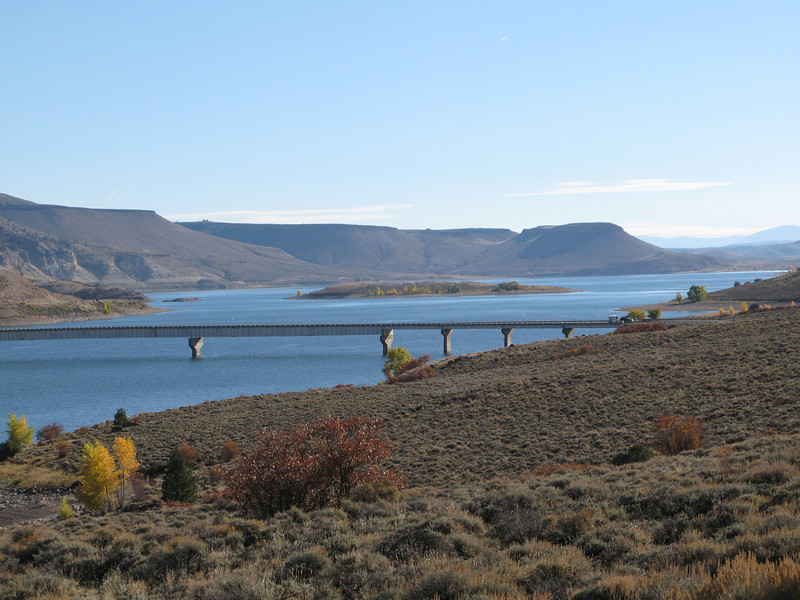Blue Mesa Reservoir on US Hwy 50 just west of Gunnison, Colorado
