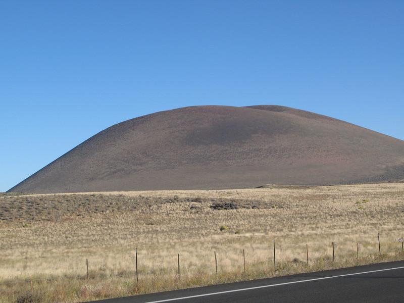 Volcano nortwest of Flagstaff, Arizona