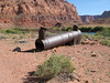 Boiler remains at Lee's Ferry once the only way to get across the Colorado River.  This is just above the Grand Canyon