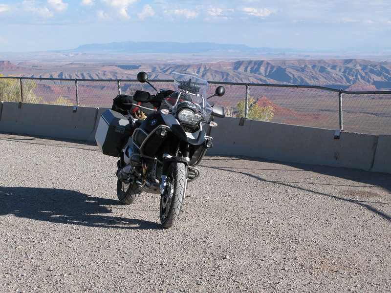 At the top of the Moki Dugway