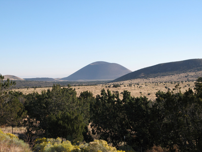 Volcano nortwest of Flagstaff, Arizona