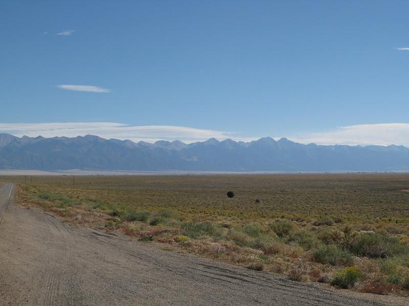 Colorado Hwy 114, towards the San Luis Valley