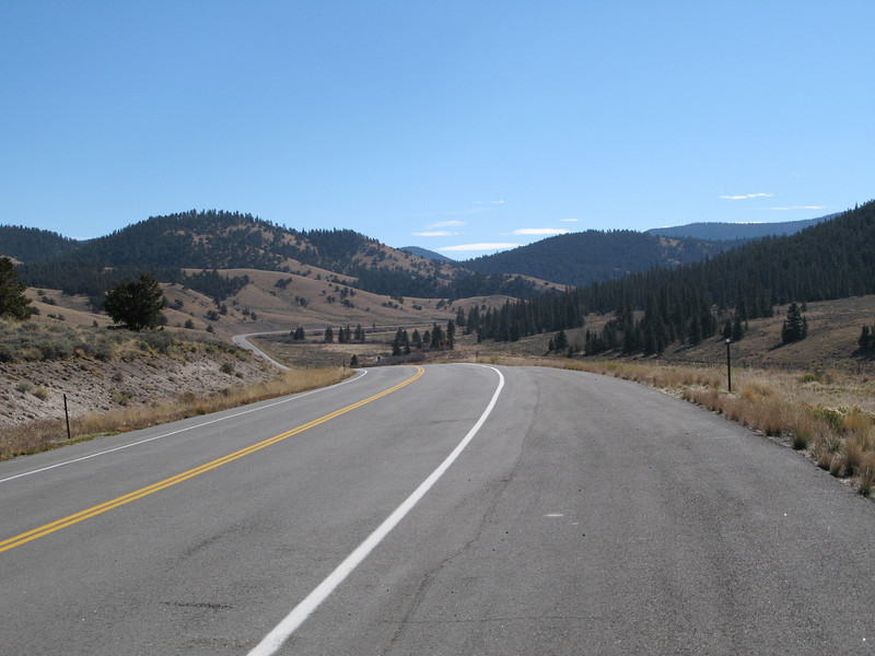 Colorado Hwy 114, east of Gunnison, Colorado