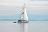 4071 sailboat with dinghy