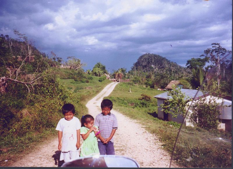 Agucate Village, Southern Belize near the Guatemala border.