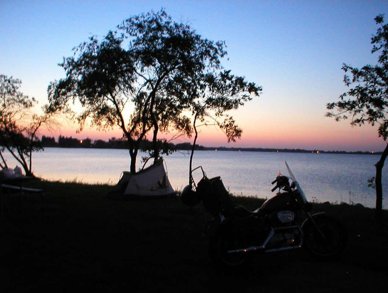 A great camp spot in eastern SD, Sandy Shore camp ground.