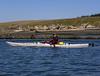 Bret and his Aquaterra kayak Swinomish channel.