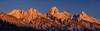 1831 Grand Teton sunrise