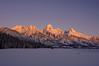 1825 Grand Tetons sunrise