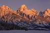 1827 Grand Tetons sunrise