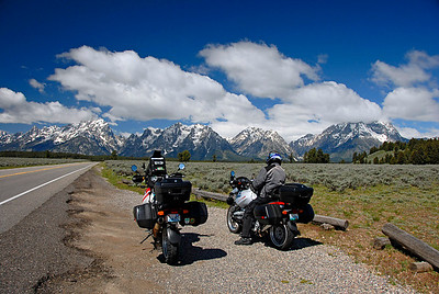 Grand Teton National Park by Motorcycle May '07