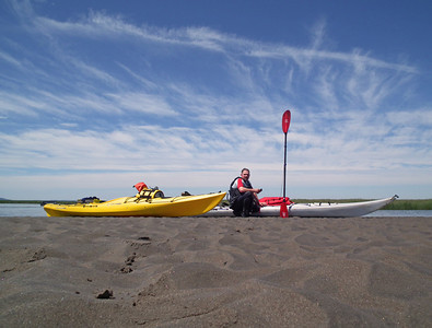Kayaking the Skagit River Delta June 2011