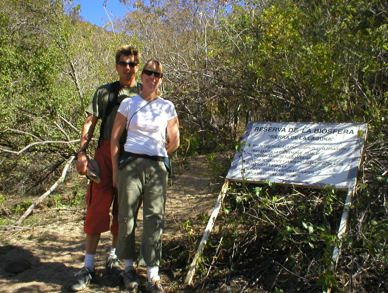 Reserva de la Biospeha. This hike takes you through seven Biospheres.