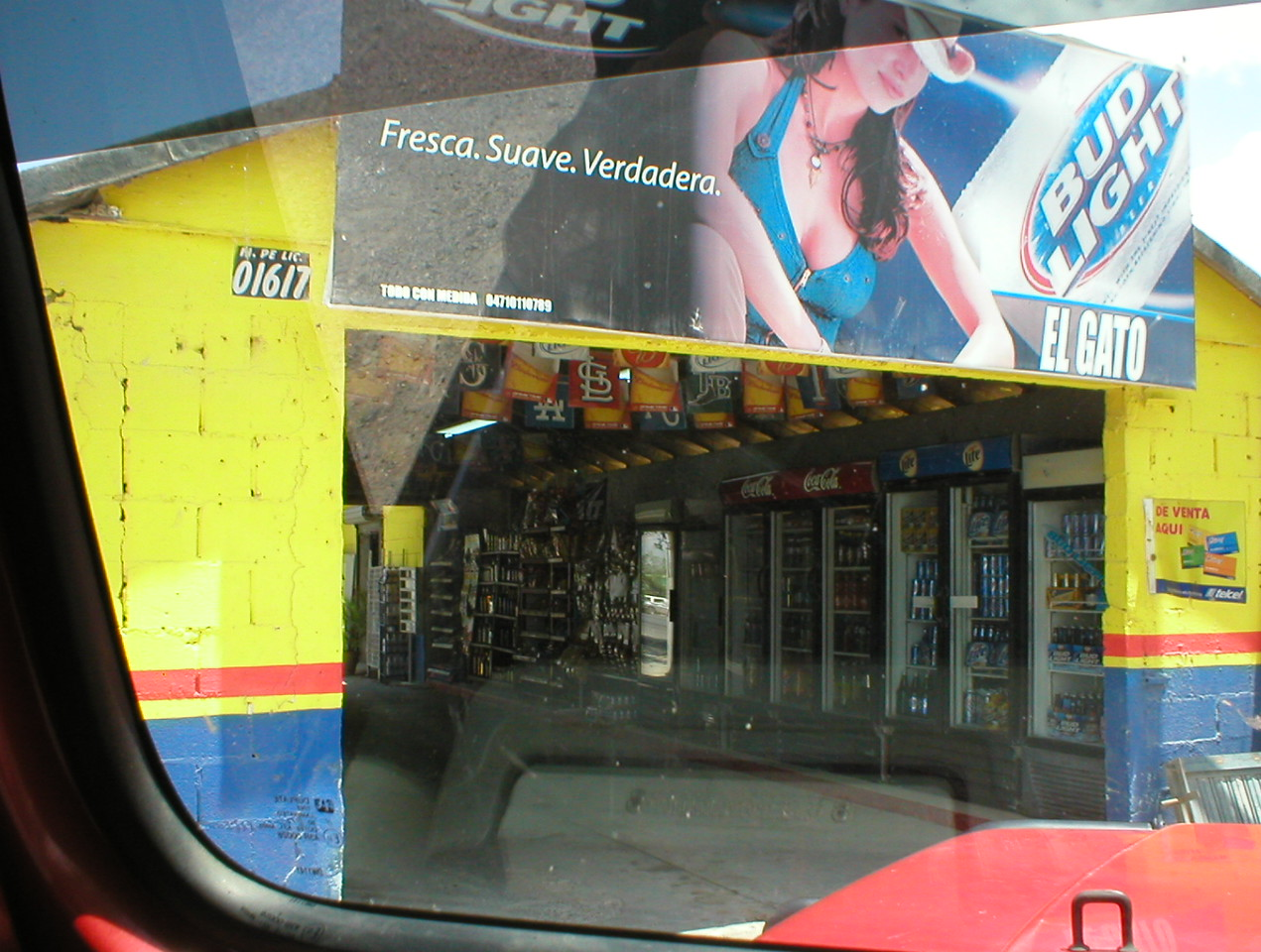 Mexican drive-In liquor store :)