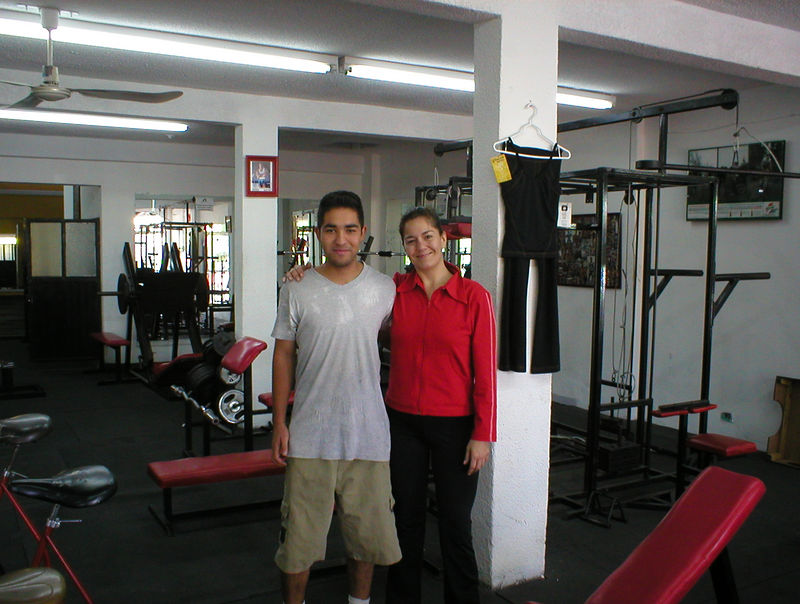 Keeping with the theme of an inspirational web site I'll keep trying to mention things Heidi and I like to do while traveling. One goal is we like is to return from an adventure in much better shape then when we started. We constantly have our eyes on the lookout for a gym and a way to get the heart pumping. We stumbled on Athons fitness center, a nice little gym and just a short walk from the hotel. I didn't think we could feel more welcome at a new gym then we did at Loreto's University but Luis and everyone at Athons were trying their best. We worked out both days and felt great!