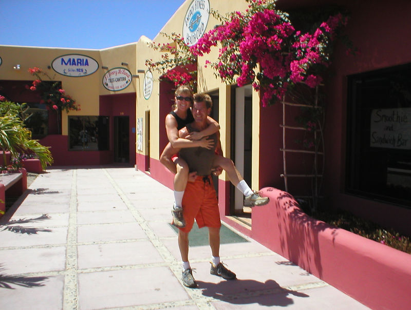 The Monday after Easter we go have an early workout then head out to La Paz where we will catch a ferry to the mainland.