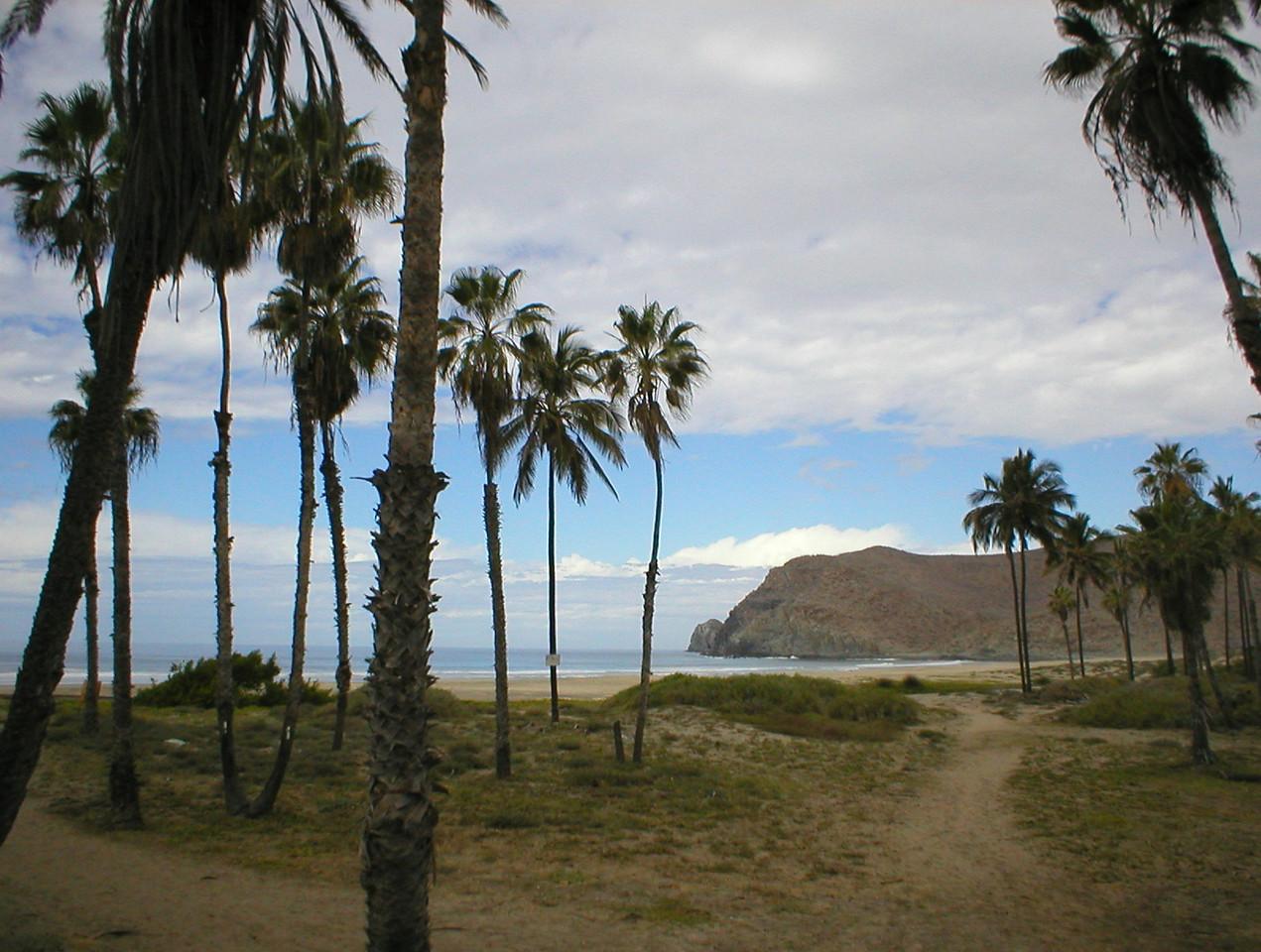 Secret beach.