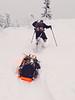 Jay pulling sled 1