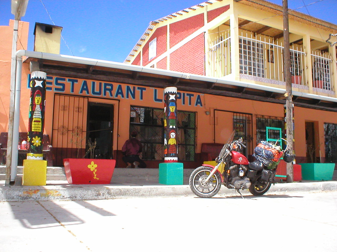 Back to Creel to provision up for going down to Batopilas and beyond. <br /> This is a good place to eat.