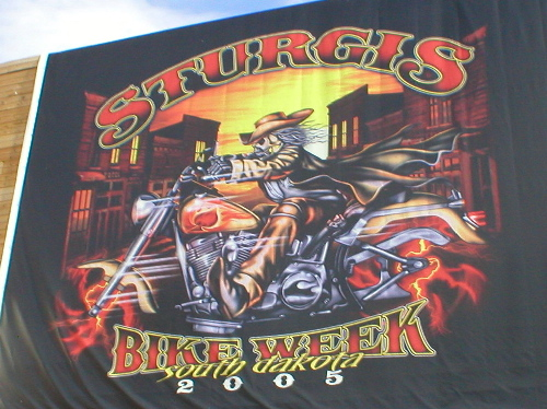 The #1 Sturgis Logo for 05'
