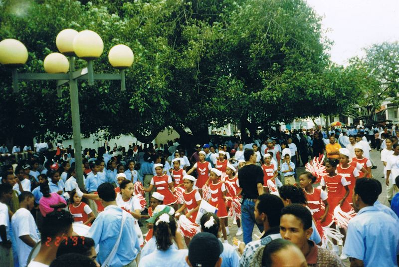 The Dia Independencia Parade