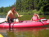 1288 Bret & Cheyenne in kayak