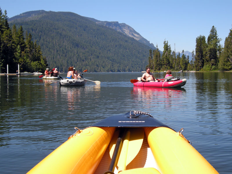 1245 leaving Lake Wenatchee