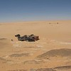 025 - <br /> Day 2 - <br /> The tiny Niger army border post lost in the great expanse of sand <br /> (Page 1-Image 14)