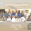 486 - <br /> Our group of 17 intrepid adventurers, Eissa our guide, & various drivers, cooks & assistants (at the Tasselli restaurant in Tamanrasset) <br /> (Page 33-Image 6)