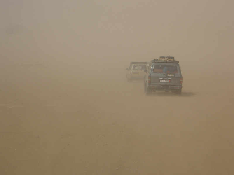 229 - <br /> Day 7 - <br /> The sandstorm descends upon again <br /> (Page 16-Image 4)