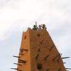 262 - <br /> Day 7 - <br /> The minaret with Flip, Bev & Steve on top <br /> (Page 18-Image 7)