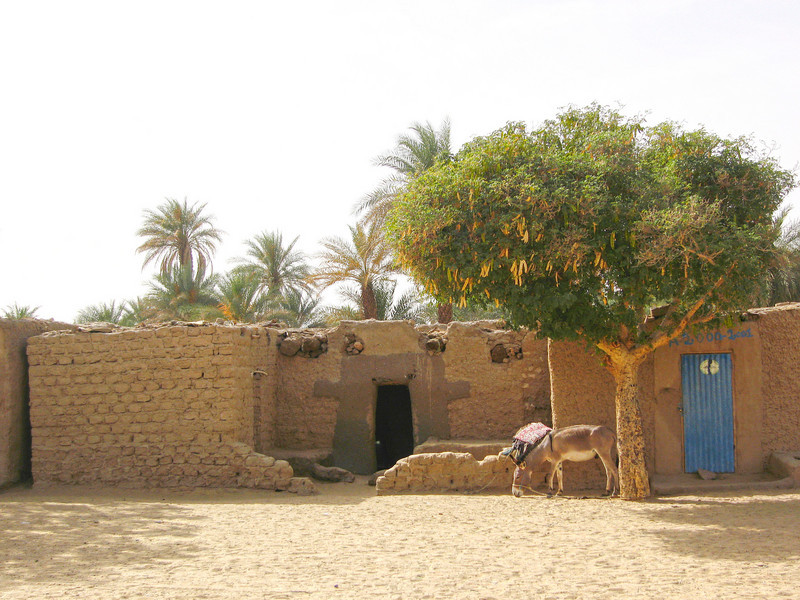163 - <br /> Day 5 - <br /> A typical home in the desert town of Fachi <br /> (Page 11-Image 13)